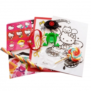 Hello Kitty PACHET MARE CU ACADELE SI SURPRIZE