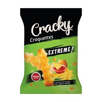 CROCHETE CRACKY EXTREME CU AROMA DE NACHOS 80gr
